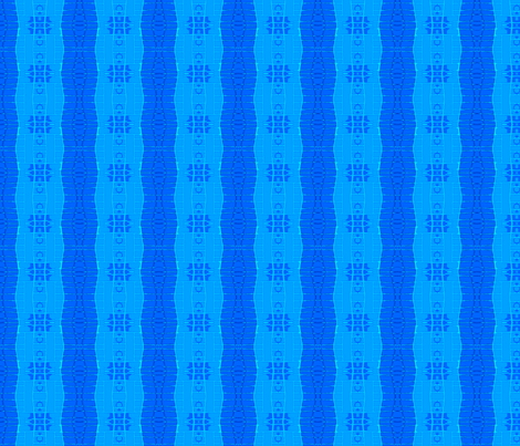 Blue on Blue on Blue fabric by robin_rice on Spoonflower - custom fabric