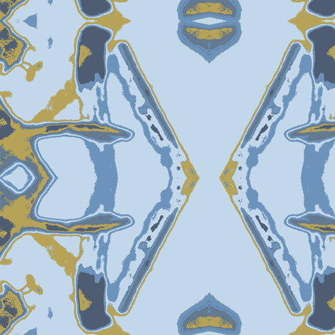 A Dutch Wax Morning fabric by susaninparis on Spoonflower - custom fabric