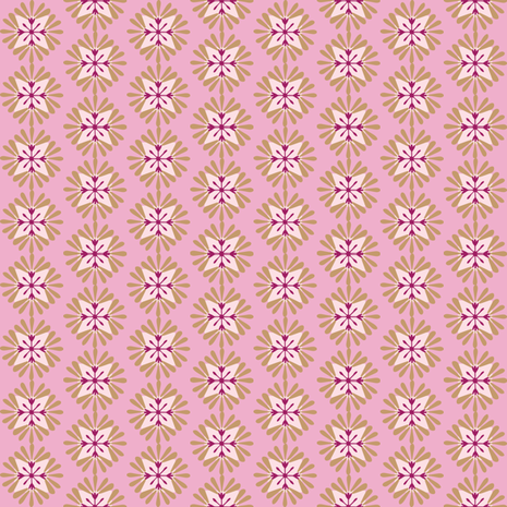 wuschelrosebrown fabric by lilliblomma on Spoonflower - custom fabric
