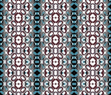 Old Tile Floor fabric by susaninparis on Spoonflower - custom fabric