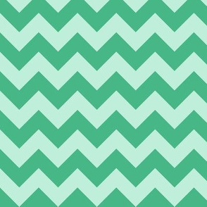 baby elephant green mint chevron