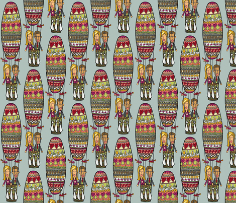 up up happy love fabric by scrummy on Spoonflower - custom fabric