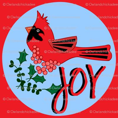 Cardinal Celebration - Joy