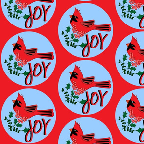 Cardinal Celebration - Joy