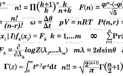 Equations and Equations - White
