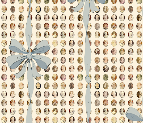 ClassicCameos fabric by patters on Spoonflower - custom fabric