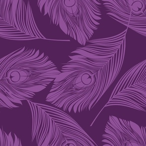Feathered - Purple