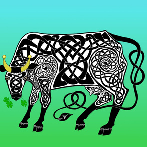 Celtic Cow Banner