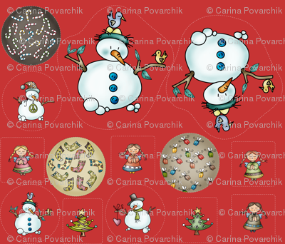 Sweet Xmas - Ornaments and Plushie