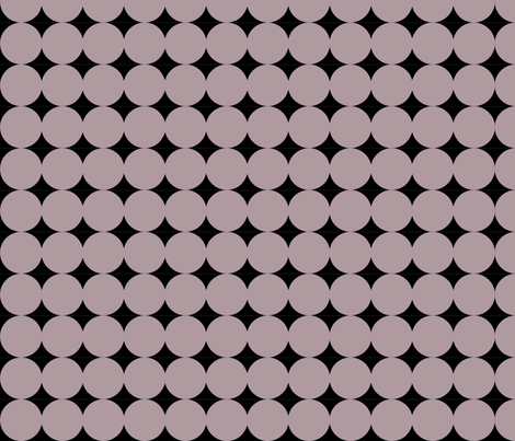 Dot Line - Gray fabric by owlandchickadee on Spoonflower - custom fabric
