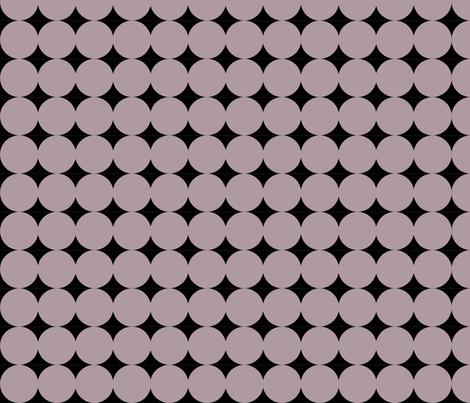Dot Line - Gray fabric by owlandchickadee on Spoonflower - custom fabric