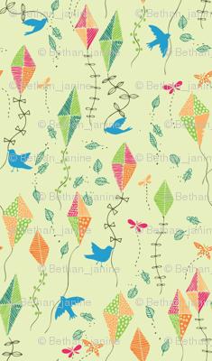 fly away blue bird