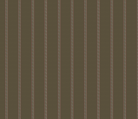 pinstripe_khaki fabric by glimmericks on Spoonflower - custom fabric