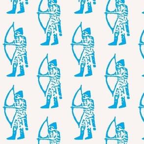 Blue Archer Three