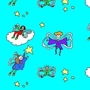 funky fairys blue
