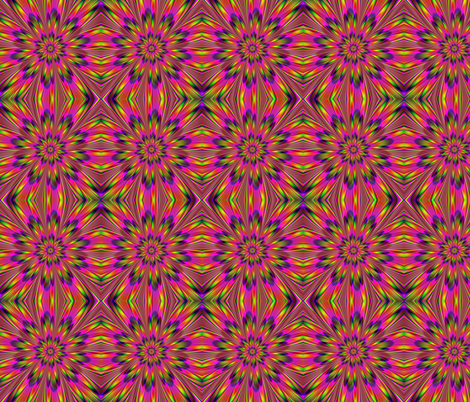 Psuedo Psychedelia  fabric by glanoramay on Spoonflower - custom fabric
