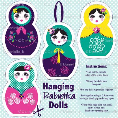 Hanging Babushka dolls