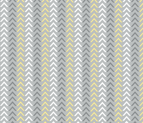 Arrow Grey / lg fabric by paragonstudios on Spoonflower - custom fabric