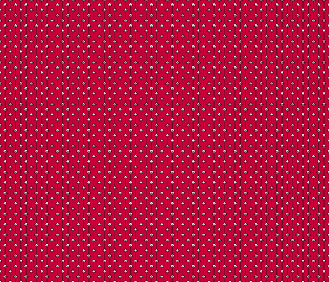 Eye Stripes Red fabric by siya on Spoonflower - custom fabric