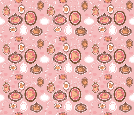 Hameo Cameo fabric by dianef on Spoonflower - custom fabric