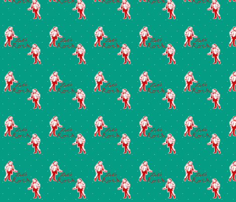 Let's Rock - Teal fabric by cherryandcinnamon on Spoonflower - custom fabric