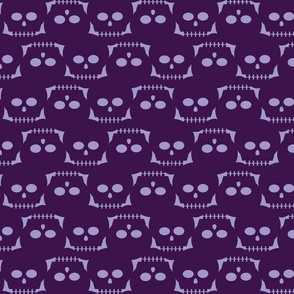 I see dead people—purple