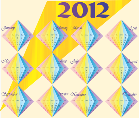 calendar2_2012_spoonflower_10_4_2011 fabric by compugraphd on Spoonflower - custom fabric