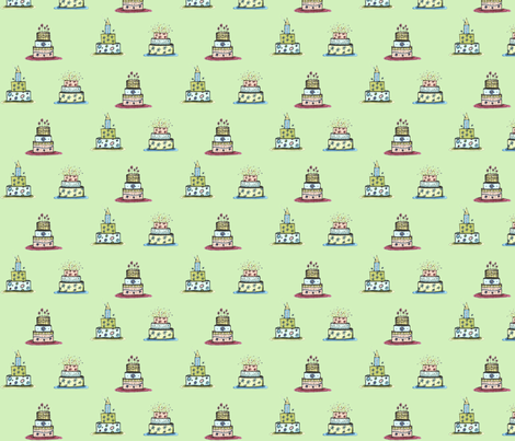 Fabulous Cakes fabric by orangesweater on Spoonflower - custom fabric