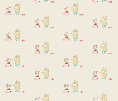 kato_s_little_friends fabric by kato_kato on Spoonflower - custom fabric