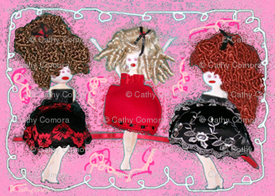 The Ta Ta Dolls by Cathy Comora