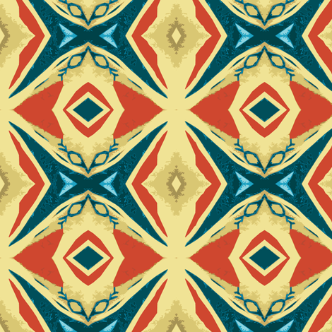 Swam the Channel fabric by susaninparis on Spoonflower - custom fabric