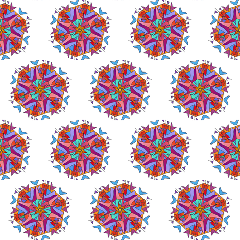 mandala_in_bright_colors fabric by vinkeli on Spoonflower - custom fabric