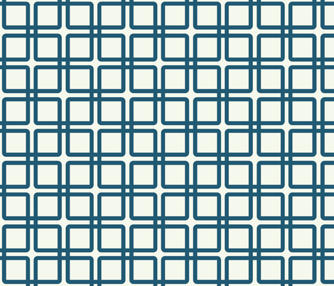 A Girl's Best Plaid: Navy fabric by frontdoor on Spoonflower - custom fabric