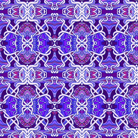 Tied up in Purple fabric by edsel2084 on Spoonflower - custom fabric
