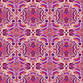 Victorian Tiles (hot colors)