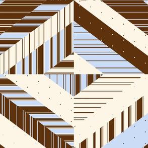 Classic Stripe & Polka Dot Quilt