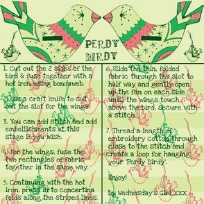 perdy birdy clover