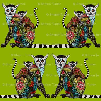 lemur love lime