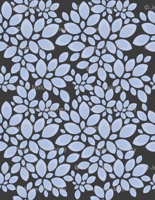 Leaves - Calming Blue