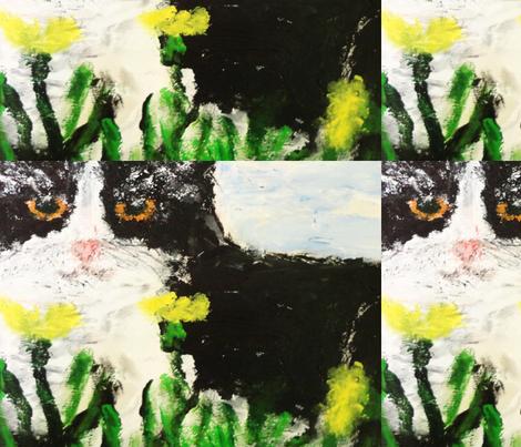 LuLlu_Close_Up fabric by anne_k_abbott on Spoonflower - custom fabric