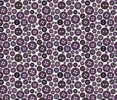Buttons - Calm Plum fabric by jesseesuem on Spoonflower - custom fabric