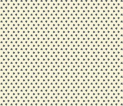 Sand & navy blue fabric by the_cornish_crone on Spoonflower - custom fabric