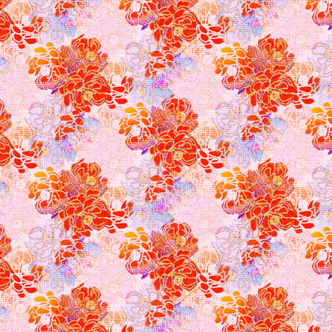 Floral Happiness fabric by joanmclemore on Spoonflower - custom fabric