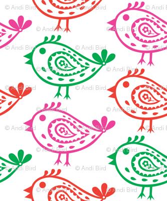 Paisley Birds