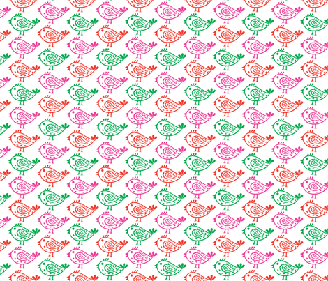 Paisley Birds fabric by andibird on Spoonflower - custom fabric