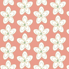 Chirping Floral Soft Coral