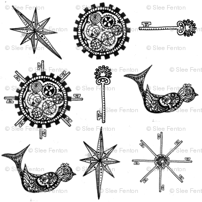 steampunk_fabric_design