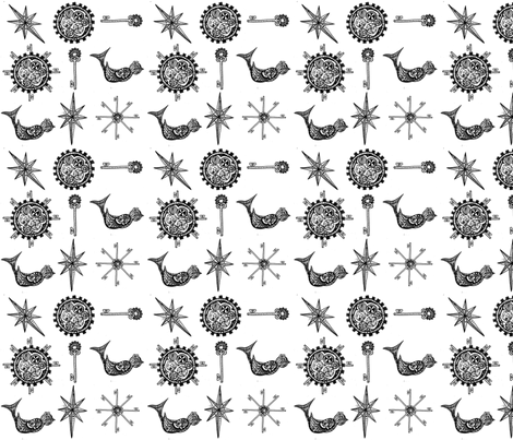 steampunk_fabric_design fabric by fentonslee on Spoonflower - custom fabric