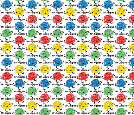 Mr Jiggles - jello fabric by andibird on Spoonflower - custom fabric