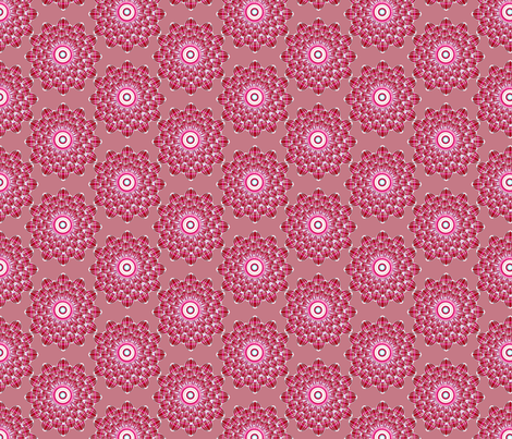Ruby Floral fabric by joanmclemore on Spoonflower - custom fabric
